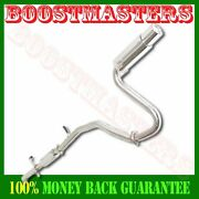 Stainless Catback Exhaust Muffler 4 Tip For 05-07 Scion Tc Base Coupe 2d 2.4l