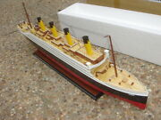 Titanic High Quality Wooden Model Cruise Ship 40 Fully Assembly