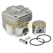 New 49mm Cylinder Piston And Ring Kit For Stihl Ts400 Ts 400 Chainsaw Parts