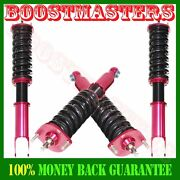 16 Ways Adj Damper Coilover Suspension Kits For 90-96 300zx Red Brand New