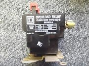 Square D Melting Alloy Overload Relay Class 9065 Type Seo-5 Series A 600v