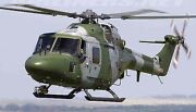 Westland Wg-13 Lynx Military Helicopter Wood Model Replica Small Free Shipping
