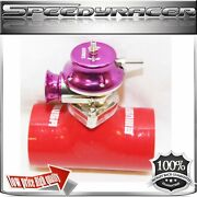 Silicone Type-s Turbo Blow Off Valve Bov 2.5 Adapter Red+ Emusa Type Rs Bov