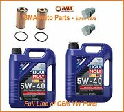 2 X Oem Vw/audi Oil Change Kits For 2.0 And 2.5l Jetta Beetle Golf Gti A4 A3