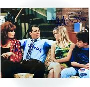 Married With Children Cast Signed 8x10 Photo Oand039neill Sagal Applegate Psa/dna Coa