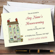 House Sold Housewarming Party Personalised Invitations