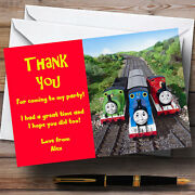 Thomas E Tank And Friends Personalised Childrenand039s Party Thank You Cards