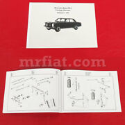 Mercedes W 18 Typ 290 1934 Edition German Illustrated Parts Catalogue New