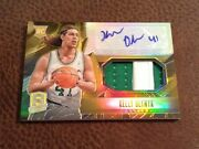Kelly Olynyk 2014 Spectra Rookie Rc Gold Auto Autograph Patch Card 2/10