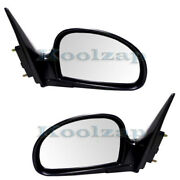 For 07 08 09 Spectra5 Rear View Door Mirror Power Heated Manual Folding Pair Set