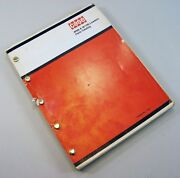 J I Case W9b W10b Loader Parts Manual Catalog Assembly Exploded View