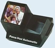 Pana-vue Fpa005 Illuminated Auto Slide Viewer For 35mm Up To 36 Slides