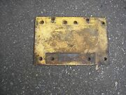 Simplicity Allis Chalmers 157057 Engine Base Plate Weight 3212 B-10 Big 10