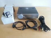 Toshiba Tdp-t90a Projector / Tv Movie Gaming Theater + 4 Lamps/bulbs + Cables