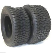 2 New 16x6.50-8 Turf Tires 4 Ply Tubeless John Deere Lawn Mower Tractor Rider
