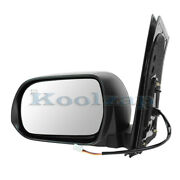 For 13-17 Sienna Van 2.7l And 3.5l Rear View Door Mirror Power Heated Driver Side