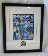 2000 Disneyana Convention Its A Small World Fab 5 Pin Set Limited Edition