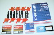 06-08 Explorer 8+coil Heavy Duty Red +8 Spark Plug Sp515 And Airfueloil Filter