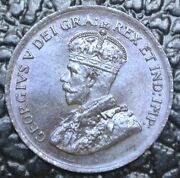 Old Canadian Coin - 1920 One Cent - 1st Year Small - George V - Gorgeous Lustre