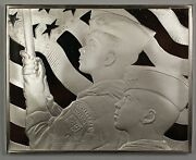 Norman Rockwell Fondest Memories The Big Parade Sterling Silver Proof Ingot