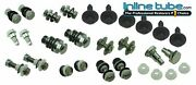70-72 A-body Convertible Top Complete Hardware Set Bolts Bushings Sleeves Nuts