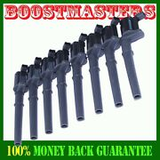 Ignition Coil 8 Pack Ford Mustang Lincoln Aviator Blackwood Continental Navigato