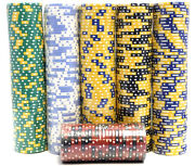 5000 Piece Poker Chips Set Blackjack Composite Clay 11.5g Assorted-high Quality