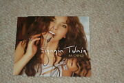 Shania Twain Signed Autogramm In Person Rar Ka-ching Cd Cover Inkl. Cd