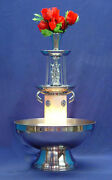 San Marino 5 Gallon Stainless Steel Champagne Punch Party Beverage Fountain