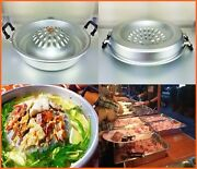 Thai Bbq Barbecue Hot Pan Style Grill Steak Charcoal Korea Kitchen Cookware 12