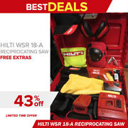 Hilti Wsr 18-a Reciprocating Saw In Great Shape Free Extras Fast Ship