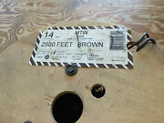 Alan Wire 14-mtw-str-brown 14awg Type Mtw 600v 19 Strand Brown Wire 1x2500