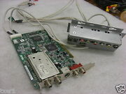 Hp 5187-4378 Asus Pvr-416 Tv Fm Tuner Card W/ Extra Input Panel