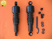 267mm 10.5 Inch Shocks Harley Sportster Forty Eight Iron 883 Lowering Black