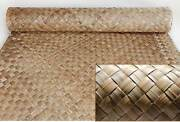 Lauhala Weave Matting Roll Commercial Grade-tiki Bar Wall Covering-4 Sizes