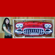 Buick Grille Neon Sign Garage Wall Lamp In Steel Can Super Eight 1949 Special