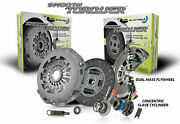 Blusteele Clutch Kit For Iveco Daily Eev 3.0l Inc New Dual Mass Flywheel
