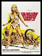 One 1 Million Years Bc Cinemasterpieces France Movie Poster 1966 Raquel Welch