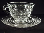 American Fostoria Cup And Saucer