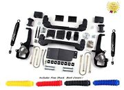 Zone Offroad D4n 6 Full Suspension Lift Kit Top Rated For 06-08 Dodge Ram 1500