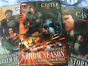 New Wrapped Richard Castle Derrick Storm Mystery Comics New Wrapped Set