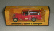 Rare 1977-78 Models Of Yesteryear 1920 Rolls Royce Fire Engine Y-6-4 Andy-7 Lesney