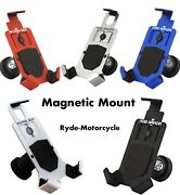 Mob Armor Magnetic Mount Motorcycle Auto Aluminum Cell Phone Smartphone Holder