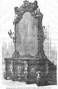 Sideboard And Mirror Manufactured By Jackson And Graham Of London - Antique Print 18