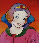 Peter Max Snow White Limited Edition Serigraph
