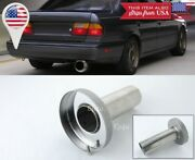 Silver Removable Stainless Muffler Silencer Insert For Ford 3.5 N1 Exhaust Tip
