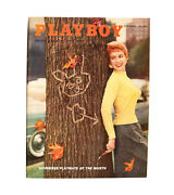 Playboy - November 1955 Back Issue Cgc Graded And Certified
