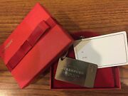 Starbucks Authentic Preloaded Silver Limited Edition Gift Card Keychain 2014