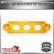 Billet Battery Tie Down For 92-00 Civic 02-05 Ep3 88-91 Crx 92-01 Prelude Gold