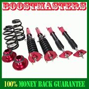 For 2008-11 G37 Coupe Sedan Rwd Only 12 F/10 Red Coilover Suspension Kits